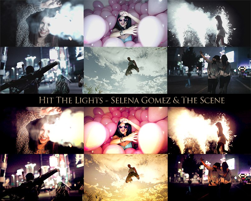 Hit The Lights Selena Gomez and The Scene