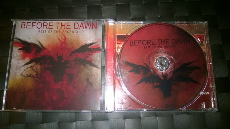 before the dawn evanescence (minus)