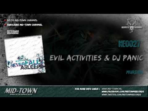 EVIL ACTIVITIES & DJ PANIC - MURDER