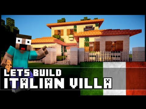 Minecraft: How To Make an Italian Villa