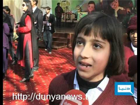 Dunya News-24-01-2012-Stars in SOS Village Lahore