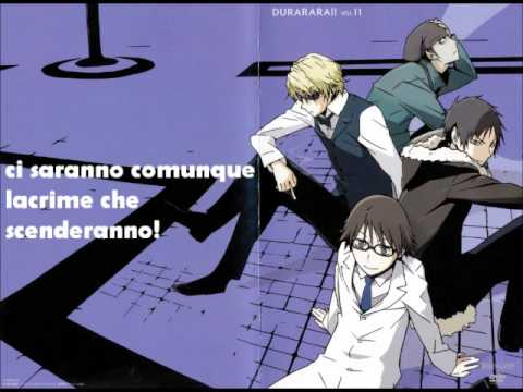 DURARARA!!  THEATRE BROOK - Uragiri no Yuuyake - Italian translation