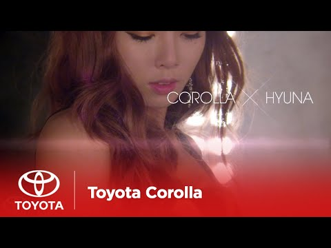 [OFFICIAL MUSIC VIDEO] COROLLA X HYUNA -- MY COLOR (2 mintue