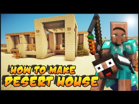 Minecraft: How To Make a Desert Survival House