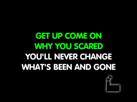 Karaoke - oasis stop crying your heart out