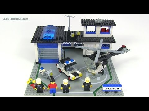 LEGO classic 6384 Police Station from 1983!
