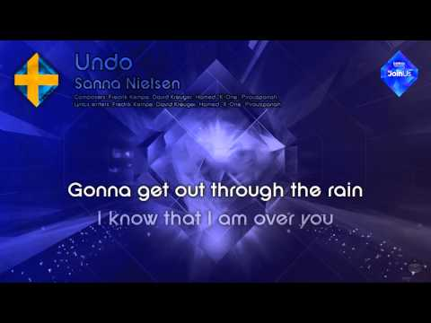 "Sanna Nielsen - ""Undo"" (Sweden) - [Instrumental version]"