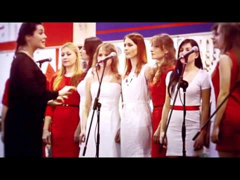 Melody Girls of Ukraine - Chasing cars (Snow Patrol cover) Live performance in Karavan