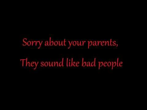 Icon For Hire - Sorry About Your Parents (Lyrics Video)