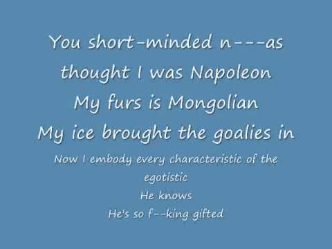 Power- Kanye West ft. Dwele (Lyrics Vid)