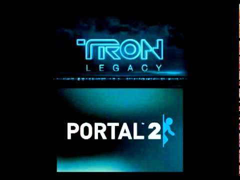 Portal 2 Vs Daft Punk: Science Is Fun vs TRON Legacy (End Titles) [dowson0417 mashup]