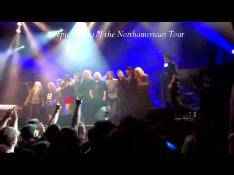 Nightwish & Floor Jansen - Best Moments from All Concerts - Tribute Video - Part 2