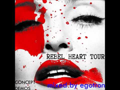 Madonna - Vogue | Fever (Rebel heart tour concept demo)
