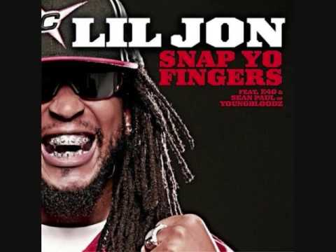 Snap Yo Fingers-E-40 (feat. Lil John and Sean Paul) + With Lyrics!!