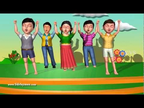 If Youre Happy and You Know it - English Nursery Rhymes Children Songs - Animation Rhymes