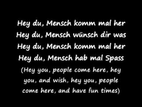 Hey Du - Tokio hotel (Lyrics and translation).wmv