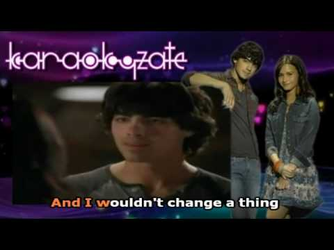 Wouldn't Change a Thing (Full Karaoke Official) [Download]