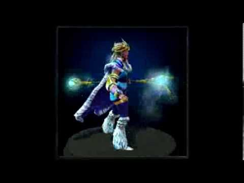 Dota 2: Frost Owl's Beacon (Crystal Maiden Mythical Staff)