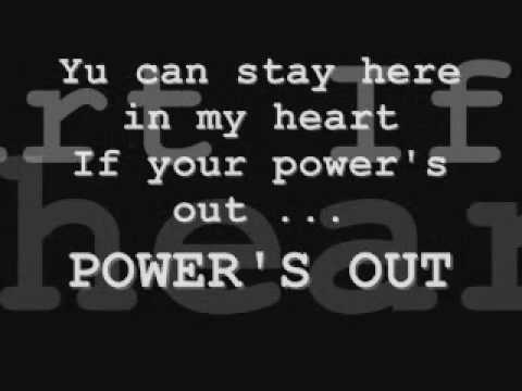 Nicole scherzinger ft sting Power's out... full song lyrics