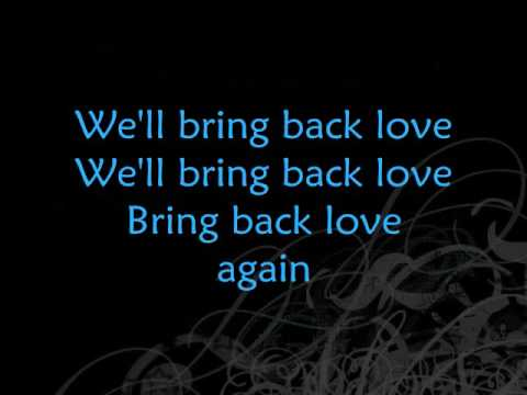 Ace Enders and a million different people~Bring Back Love lyrics