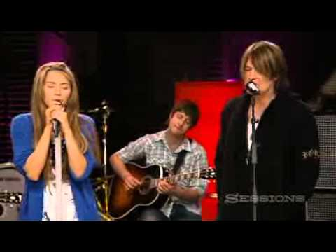YouTube        - Miley Cyrus and Billy Ray Cyrus - Butterfly Fly Away - AOL Music Sessions - HQ.flv