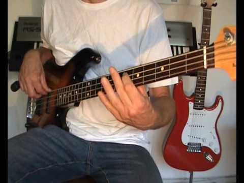 The Baseballs -- Umbrella -- Bass Cover