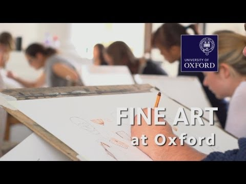 Fine Art at Oxford University